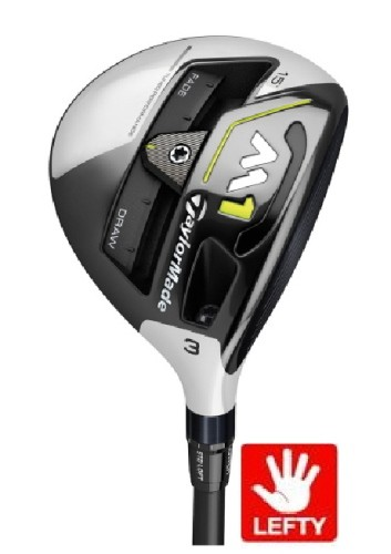 TAYLORMADE GOLF LEFT HAND M1 17° TOUR ISSUE 3HL WOOD PROLAUNCH SPEED COAT BLUE 55 REGULAR