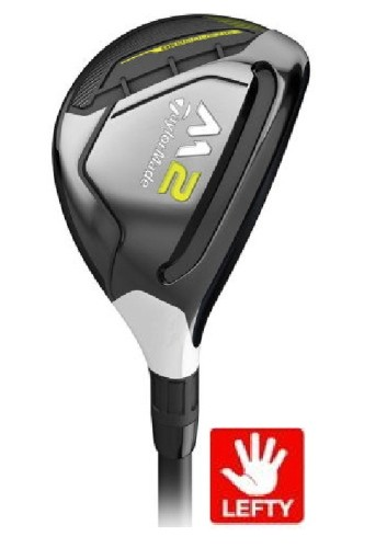 TAYLORMADE GOLF LEFT HAND 2017 M2 TOUR ISSUE HYBRID 3h 19° KURO KAGE SILVER REGULAR