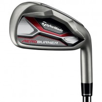TAYLORMADE GOLF CLUBS AEROBURNER 20° No 4 DRIVING/TRANSITIONAL IRON STEEL STIFF