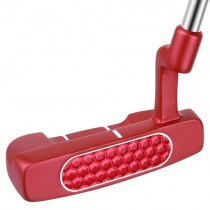 NEW BIONIK GOLF MENS R/H RL SERIES 105 RED SEMI MALLET PUTTER  35""