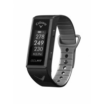 NEW CALLAWAY GOLF GOLFIT HR GOLF & FITNESS GPS BAND BLACK NO FEES EVER