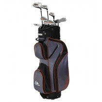 LONGRIDGE GOLF VECTOR PLUS MENS 12 PIECE GOLF SET (Steel/Graphite) CART BAG