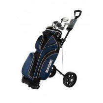"Longridge Golf ""Vector"" Men's Complete Golf Starter Set Bag-Clubs-Trolley-balls, the lot"