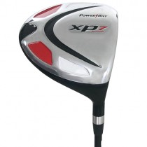 NEW POWERBUILT GOLF CLUBS XP7 Ti  BLACK 10.5° DRIVER GRAPHITE REGULAR